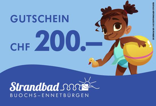 Bild von Gutschein CHF 200.-